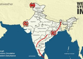 Weather Forecast for October 8 Across India