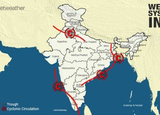 Weather Forecast for October 10 Across India
