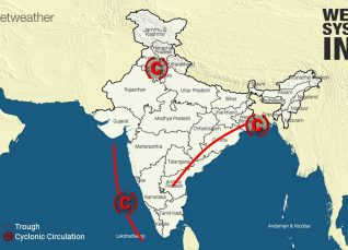 Weather-System-in-India-10-10-2019