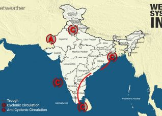 Weather Forecast for October 12 Across India
