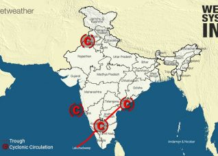 Weather Forecast for October 13 Across India