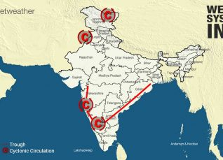Weather-System-in-India-13-10-2019