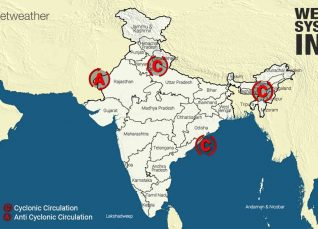 Weather Forecast Across India for October 15