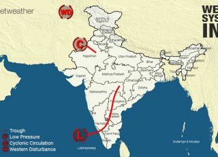 Weather Forecast for October 19 Across India