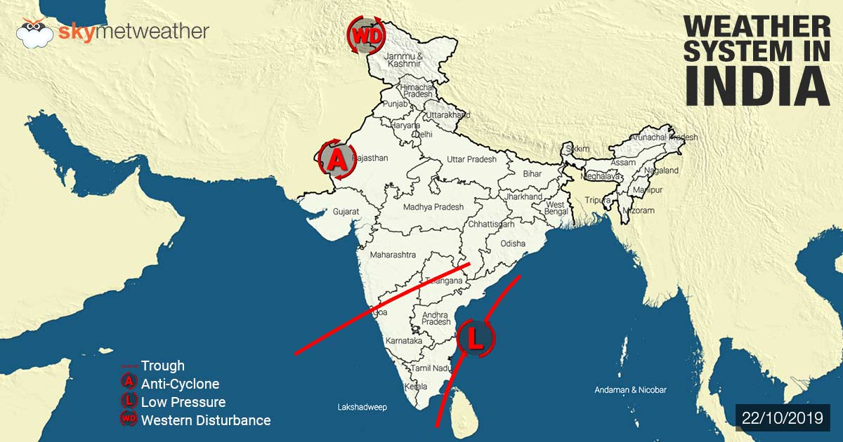 Weather Forecast for October 23 Across India