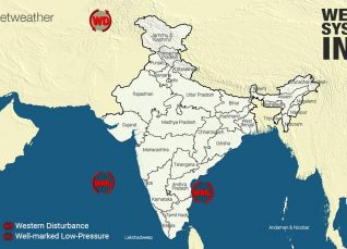 Weather Forecast for October 24 Across India