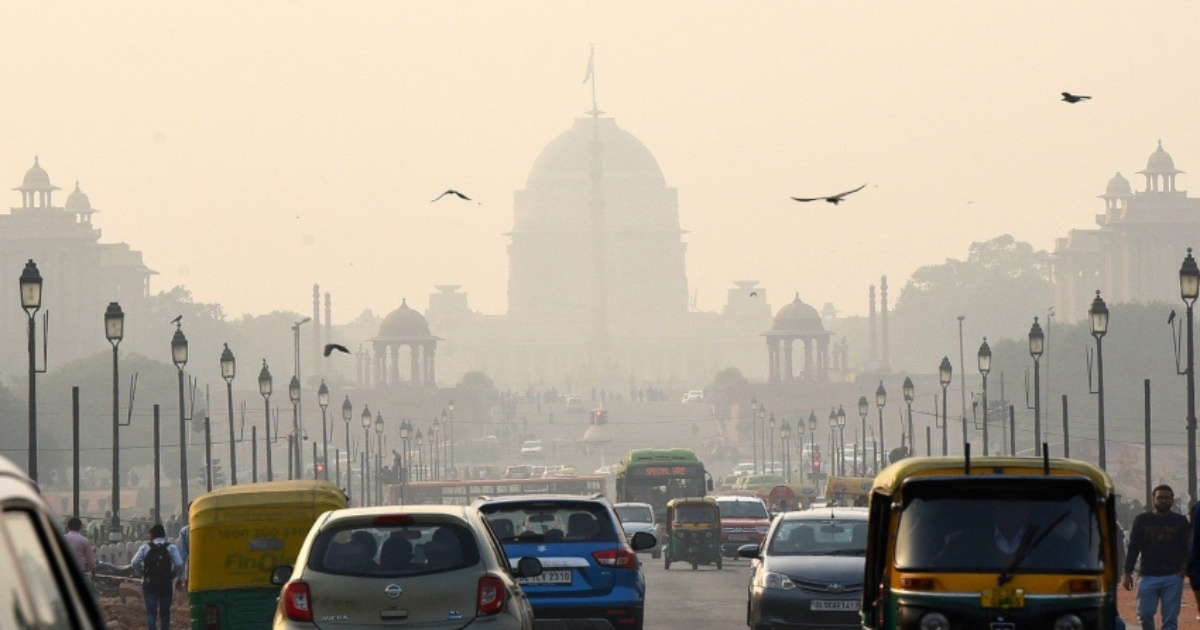 delhi pollution AQI