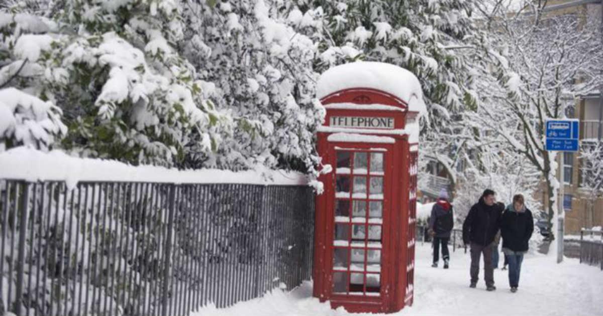 Britain Snow