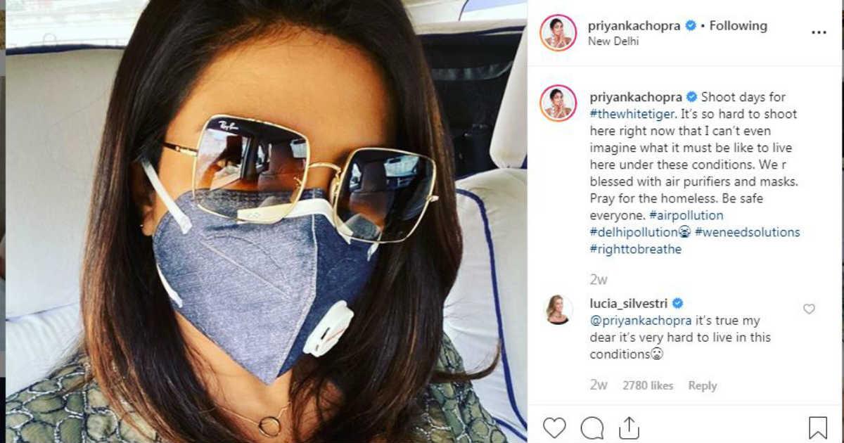 Delhi Pollution and Priyanka Chopra