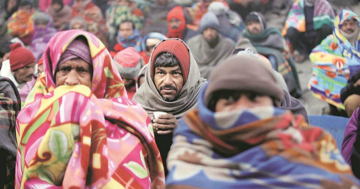 Delhi temperature in winters