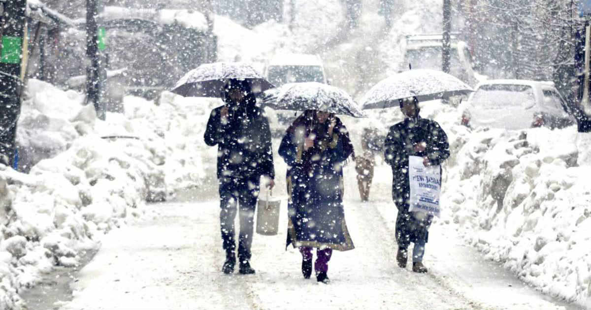 Rain and snow in Jammu and Kashmir, Ladakh