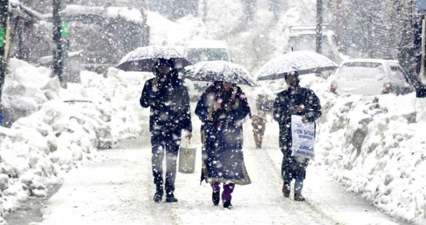 Rain and snow in Jammu and Kashmir, Ladakh