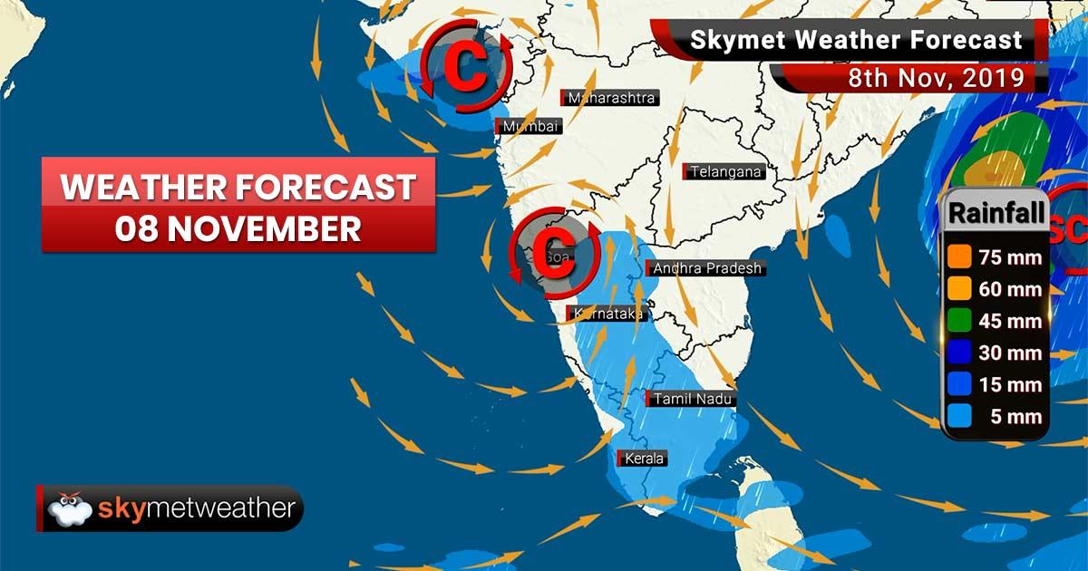 Weather Forecast Nov 8: Cyclone Maha degenerates but Bulbul emerges