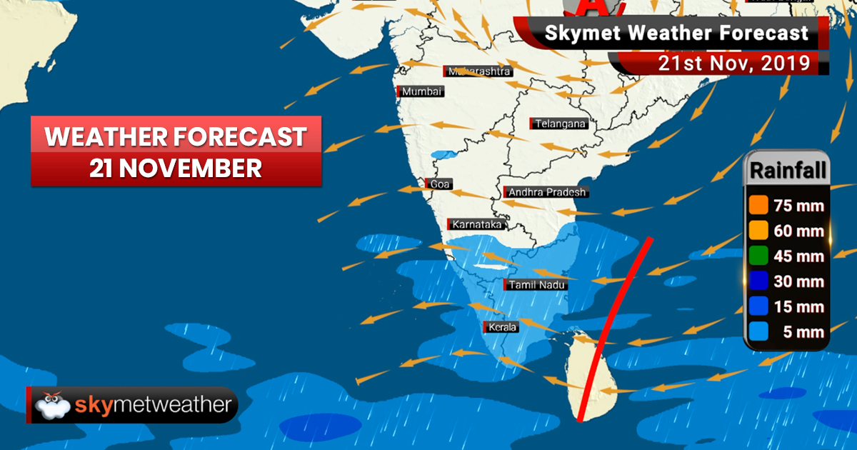 Weather Forecast Nov 21: Heavy rain, snow likely in Jammu and Kashmir, Ladakh, Himachal