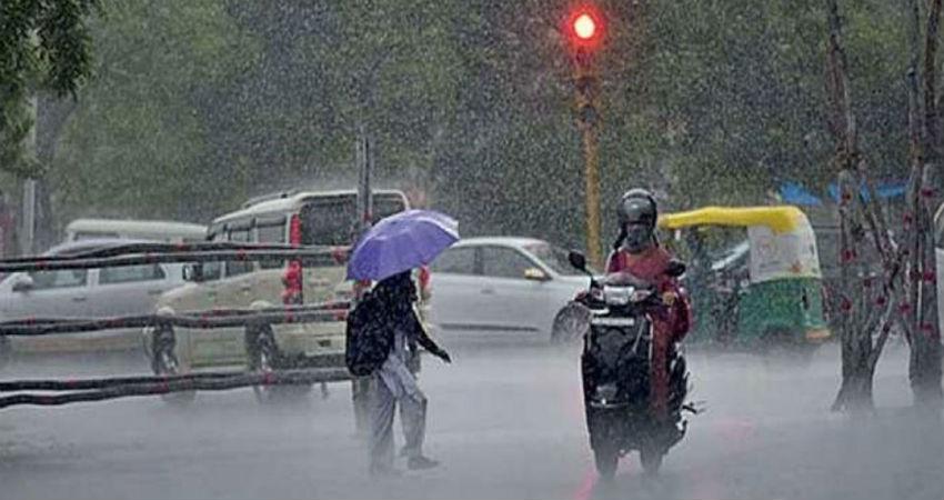 Rain and hailstorm in Jaipur