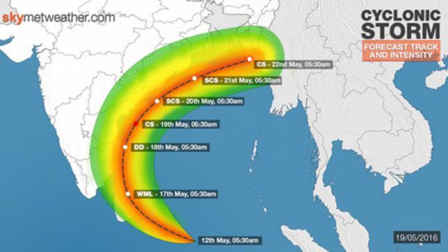 Cyclone Roanu