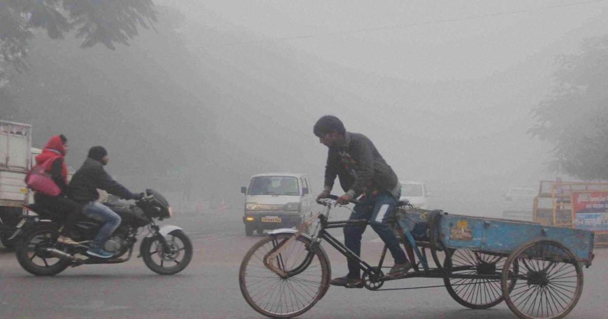 Winter in North india