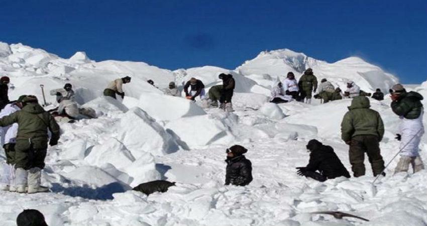 avalanche in siachen