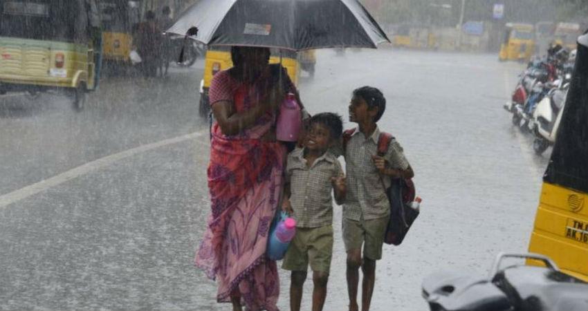 rain in South India