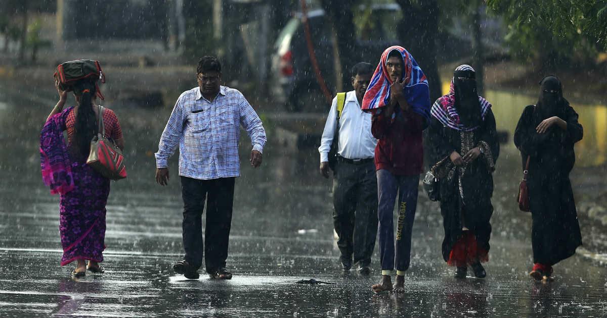 Rain in Madhya Pradesh in December