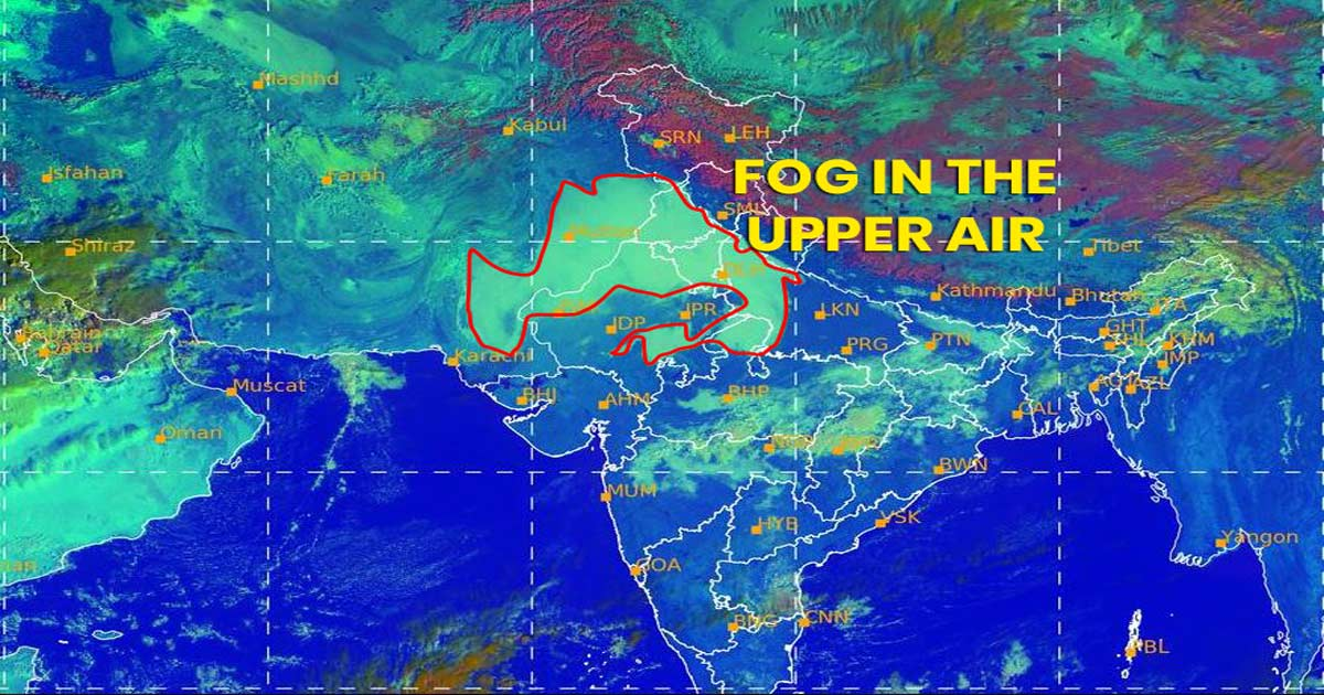 Obscured Sky in Delhi-NCR