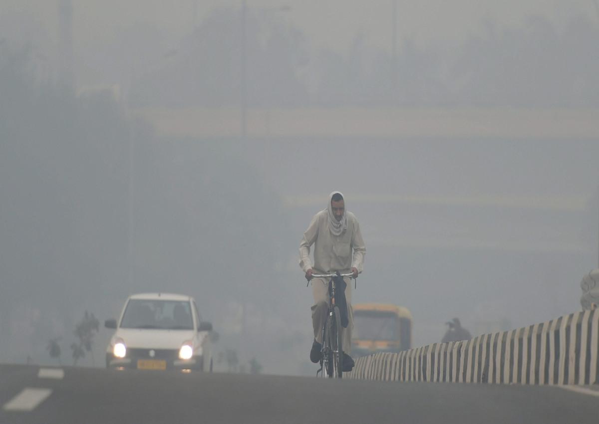 Delhi pollution and winters