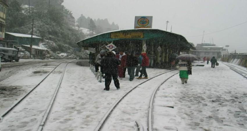 Darjeeling snow