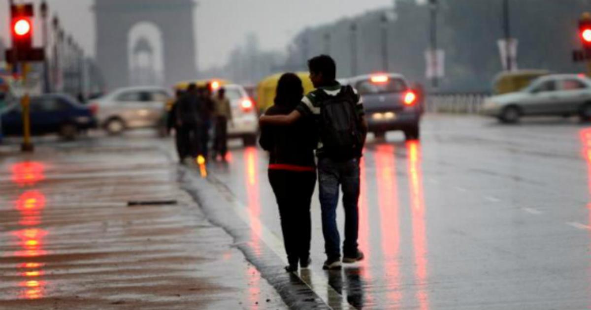Delhi winter rains