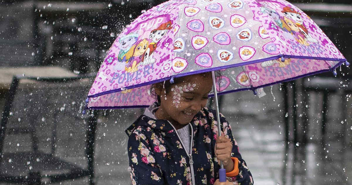 Rain in Bhopal, Madhya Pradesh
