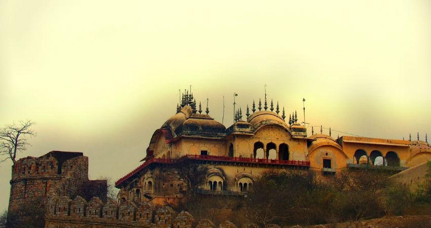 Winter Rain in Rajasthan