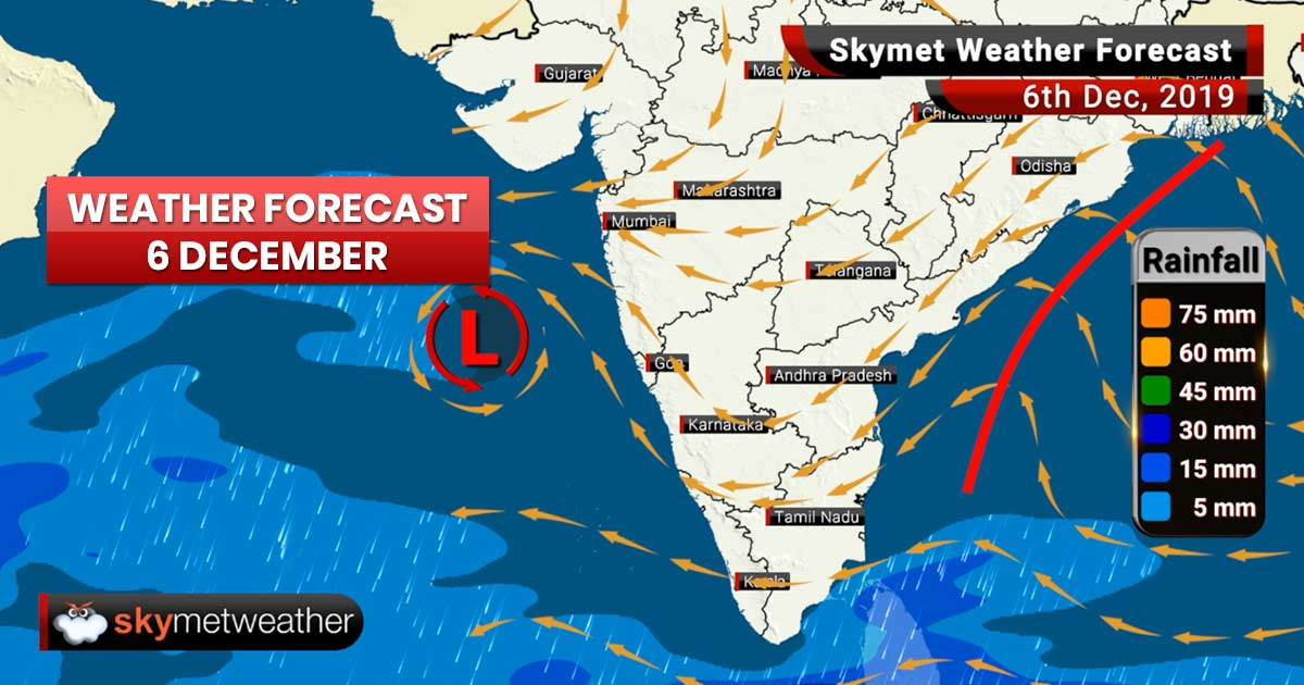 Weather Forecast Dec 6: Delhi air worsens, fog to prevail over most parts
