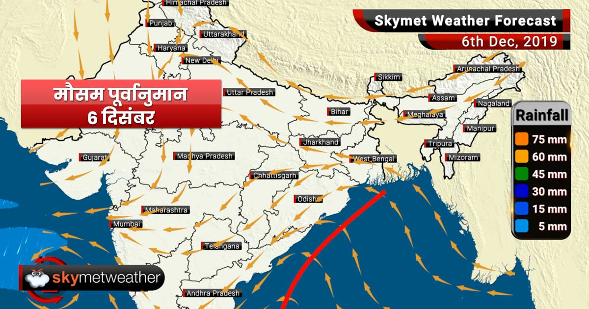 Weather Forecast Dec 6: Cold wave likely to strengthen, Moderate to dense fog likely from Punjab to Uttar Pradesh
