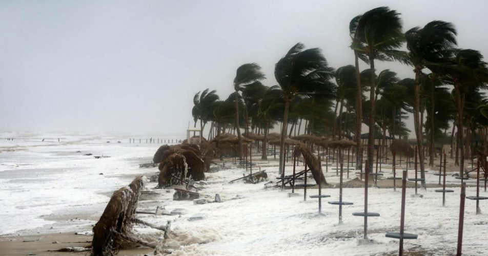 Cyclone in India