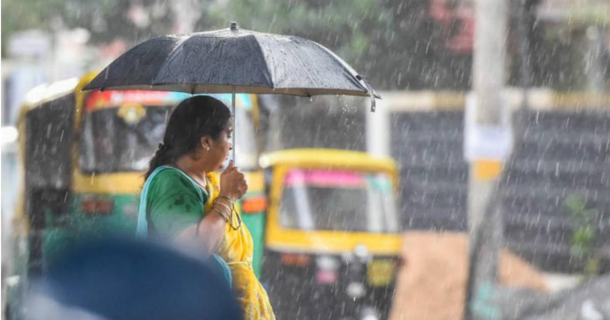 Rain in Bengaluru