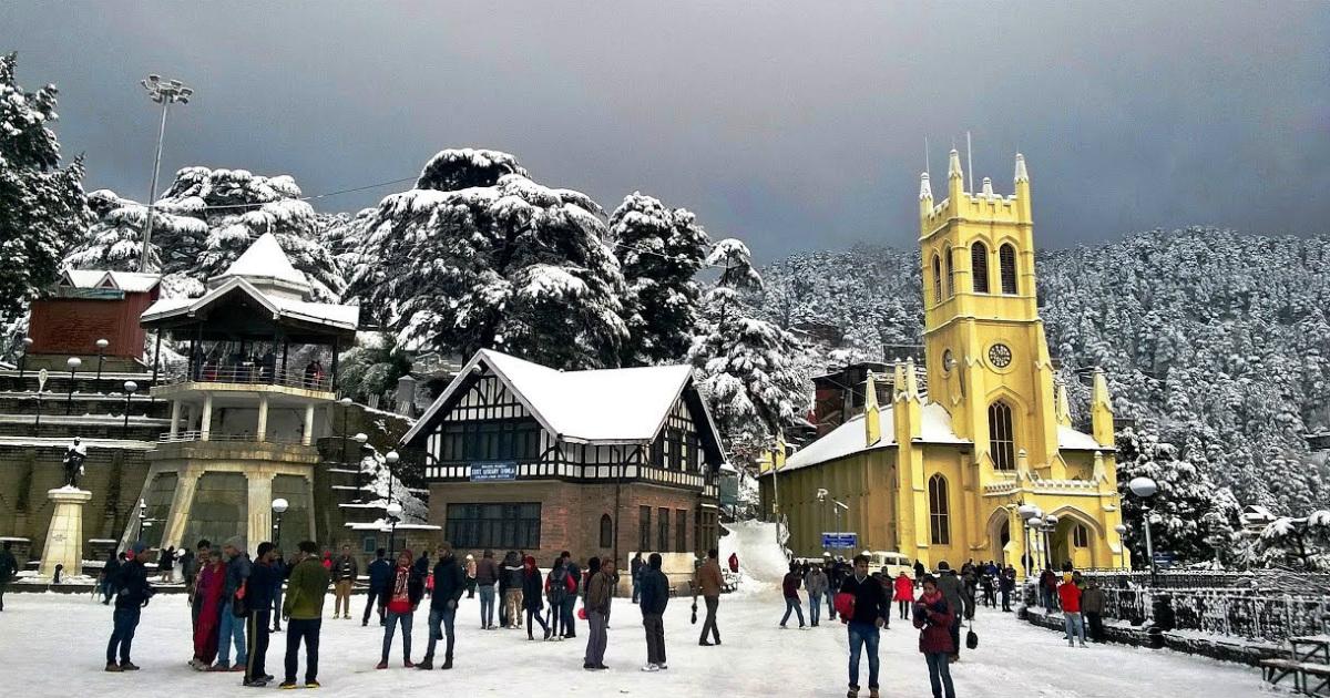 Shimla snowfal