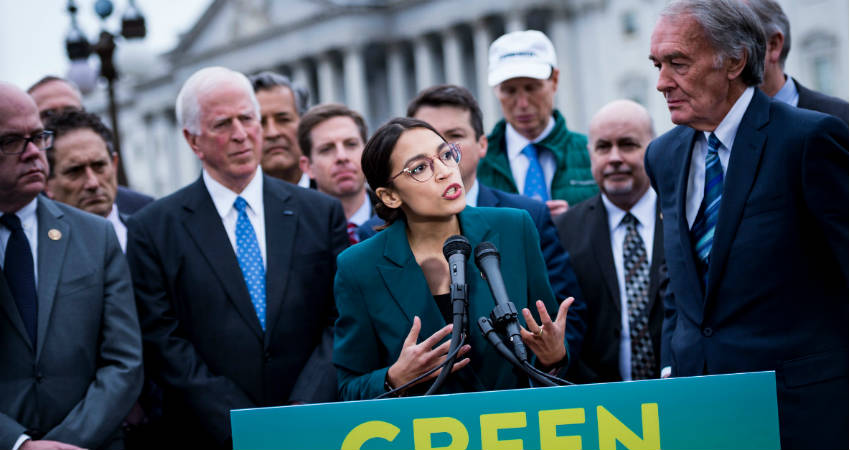 Green Deal, Climate Change