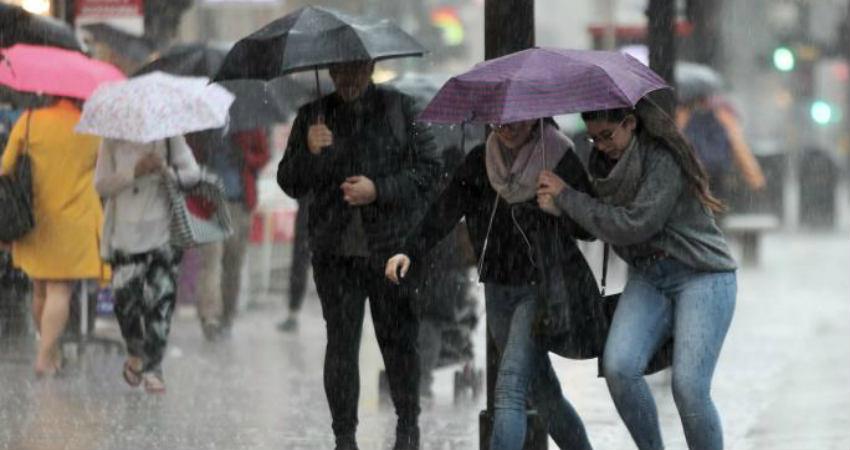 UK Rains