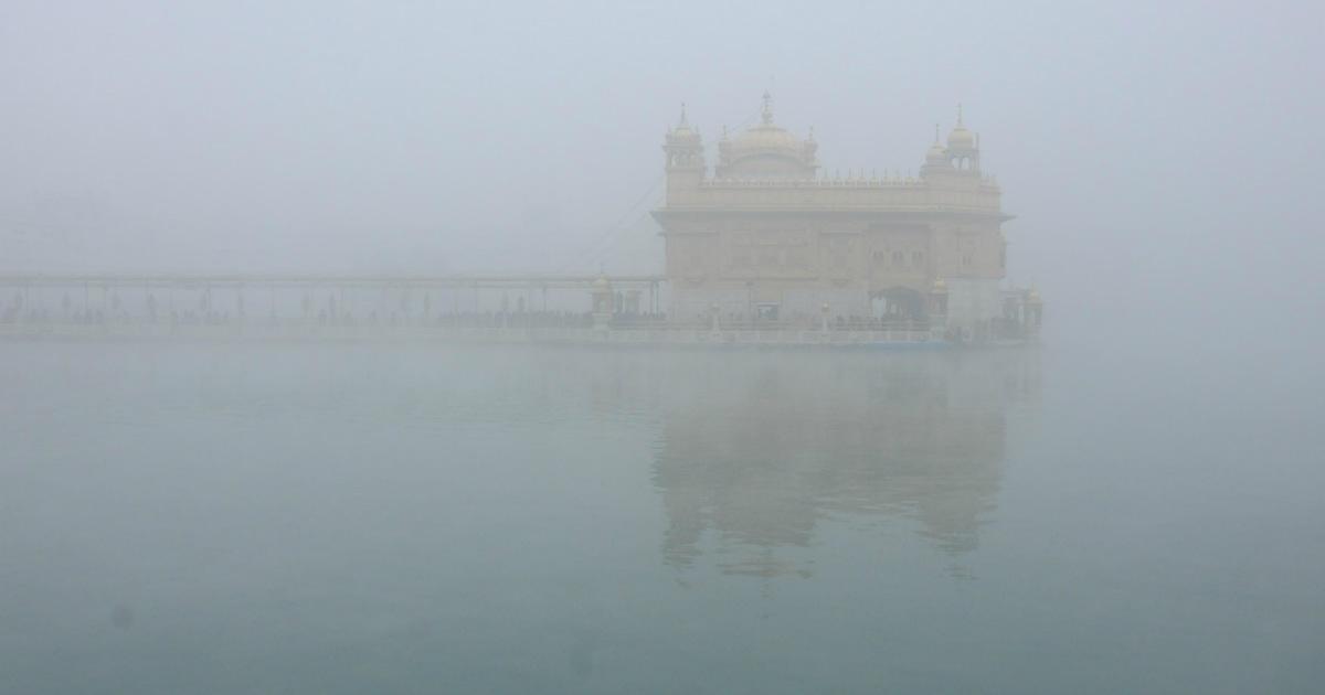 amritsar fog