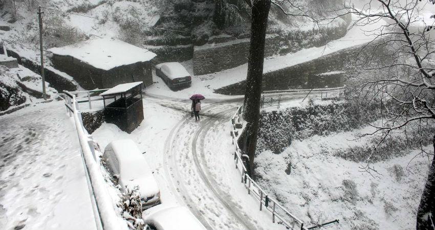shimla snowfall