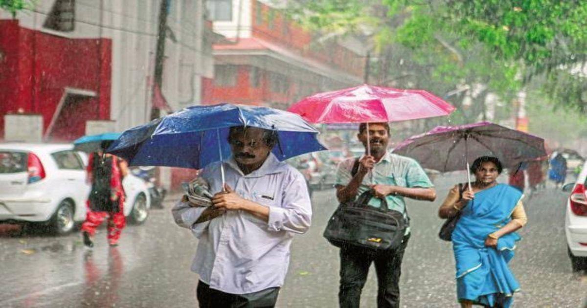 Rain in East India