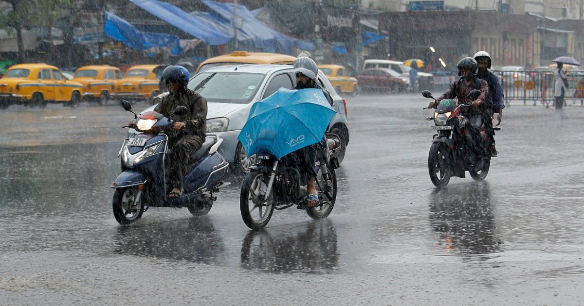 East India rain