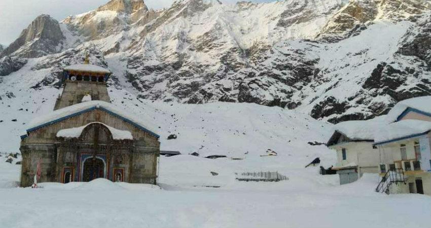 Kedarnath snowfall