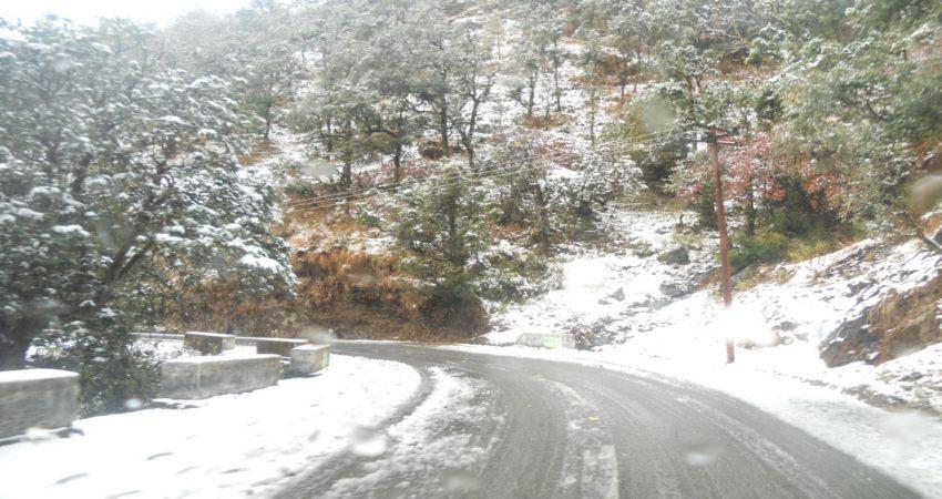 Nainital Snowfall