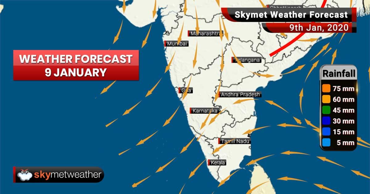 Weather Forecast Jan 9: Dense fog to engulf Punjab, Delhi, Haryana, Rajasthan