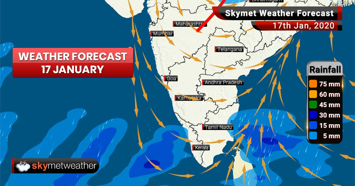 Weather Forecast Jan 17: Rain in Delhi NCR, Uttar Pradesh, Uttarakhand