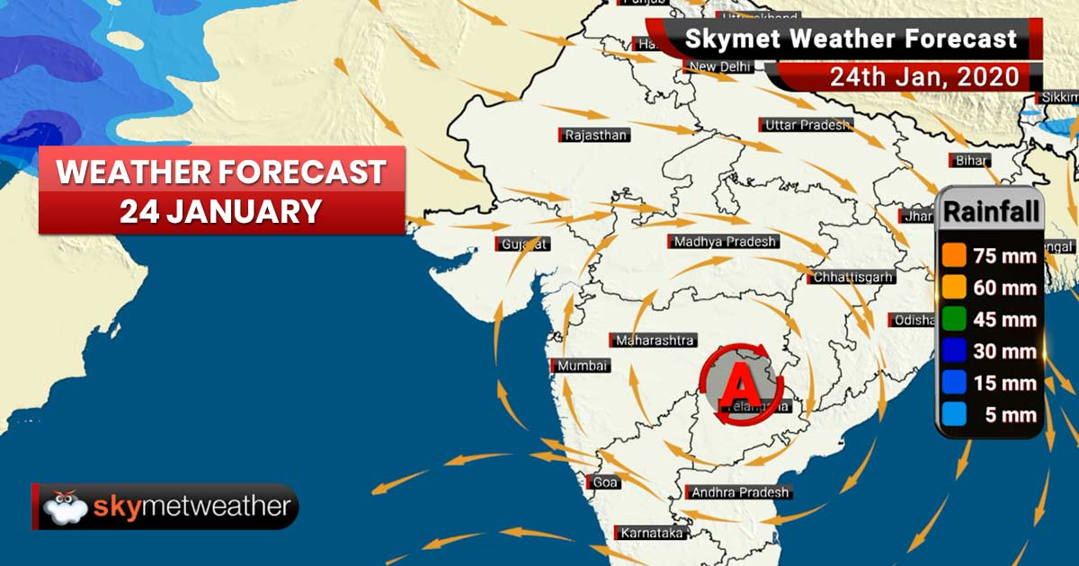 Weather Forecast for Jan 24: Cold to intensify in Punjab, Haryana, North Rajasthan and Delhi