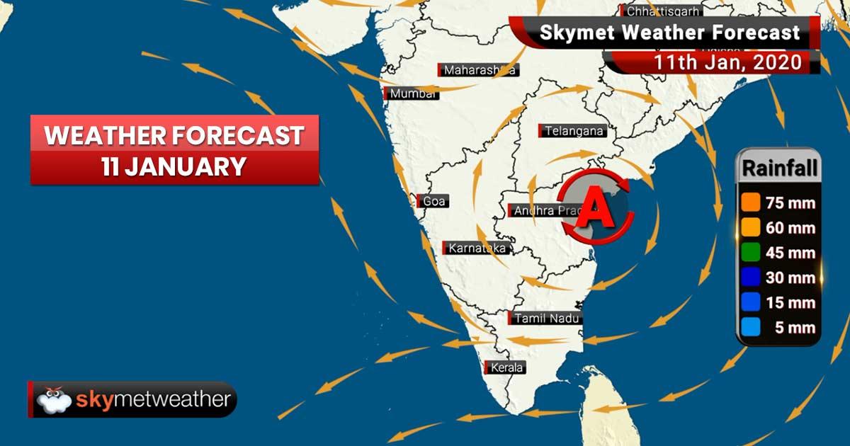 Weather Forecast Jan 11: Drop in minimums likely in Telangana, Chhattisgarh, Vidharbha, East Uttar Pradesh and Bihar