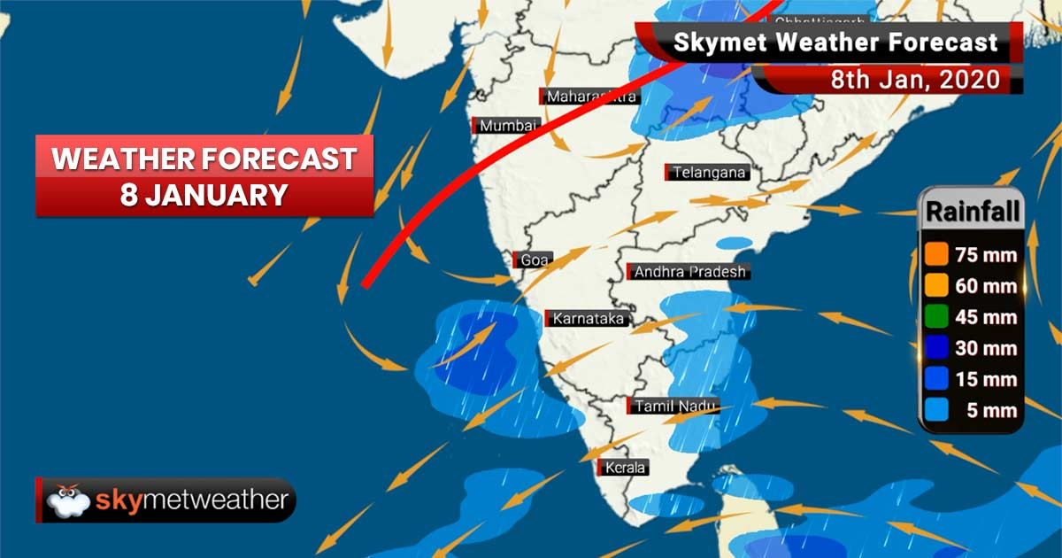 Weather Forecast Jan 8: Winter chill and rains to grip Delhi, Chandigarh, Shimla