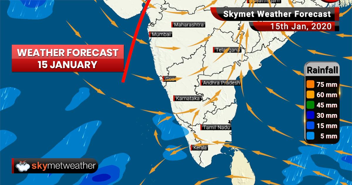 Weather Forecast Jan 15: Rain and thundershowers likely in Madhya Pradesh, Punjab and Haryana