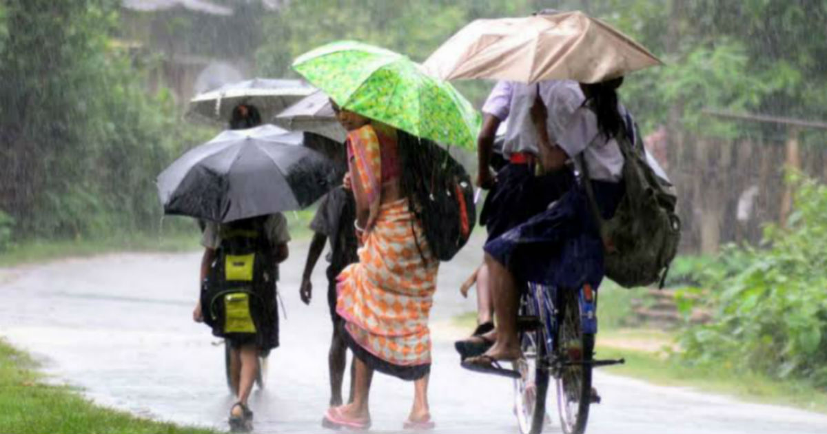 Northeast India Rains